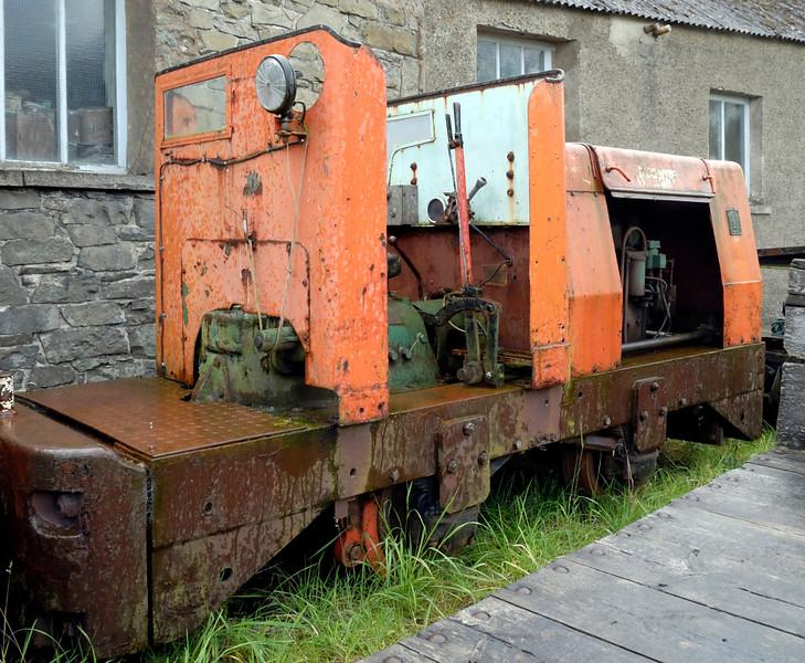 Ruston, Threkeld, Sat 28 August 2010.     Ruston & Hornsby 4wDM 444208 / 1961?