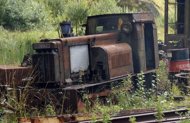 """Hunslet, Threlkeld, Sat 28 August 2010.     2' 6"""" gauge 0-4-0DM 2254 / 1940?"""