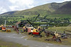 Vintage excavators, Threlkeld, Sat 28 August 2010.     The museum is home to the Vintage Excavator Trust, and has a large collection of construction plant.