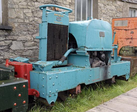Simplex, Threlkeld, Sat 28 August 2010    Motor-Rail 8937 / 1944?