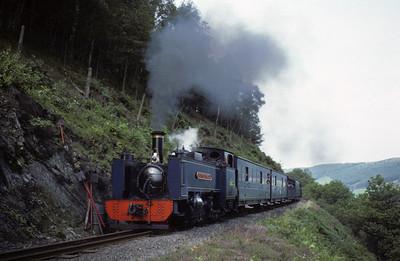 Vale of Rheidol Railway, 1977