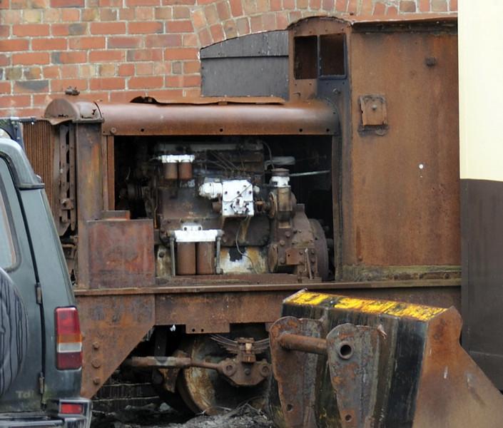 Hudswell Clarke 4wDM?, Aberystwyth, Wed 24 August 2011.  D564 / 1930?