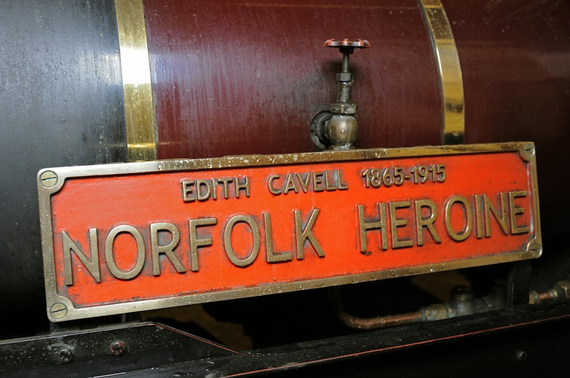 No 6 Norfolk Heroine, Wells, Fri 30 August 2013.  The Wells & Walsingham's second Garratt was built in 2010, also by Neil Simkins.