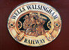 Welcome to the Wells & Walsingham Light Rly 1!  Fri 30 August 2013.  It runs from Wells-on-Sea to the pilgrimage town of Walsingham, in north Norfolk.  The railway occupies the northern end of the trackbed of the Wymondham - Dereham - Fakenham - Wells line.  (The Wymondham - Dereham section is now home to the Mid Norfolk Rly.)