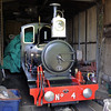 No 4, Wells, Fri 30 August 2013.  This unidentified loco may be a new acquisition by the Wells & Walsingham.