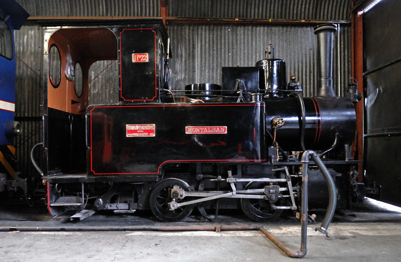 No 22 Montalban, Gelert's Farm, Porthmadog, Sat 29 May 2010 1.   Orenstein & Koppel 0-4-0WT 6641 / 1913, visiting from the West Lancashire Light Rly.