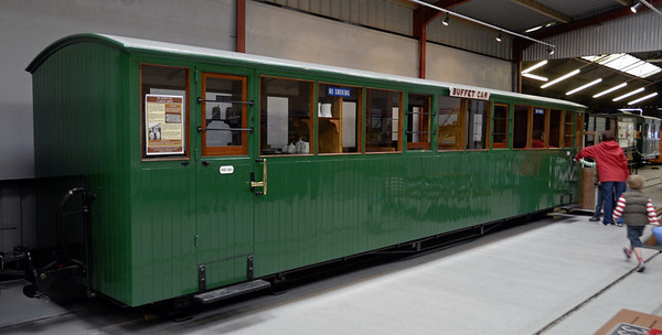 Buffet car (No 10), Gelert's Farm, Porthmadog, Sat 29 May 2010