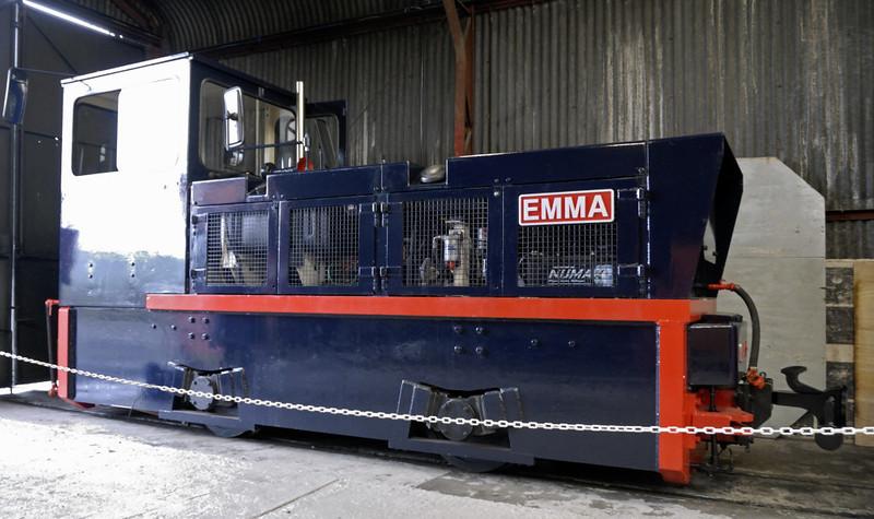 Emma, Gelert's Farm, Porthmadog, Sat 29 May 2010.     Hunslet 9346 / 1994, built for work on the Jubilee Line extension.