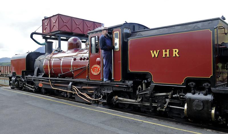 Welsh Highland Rly No 138, Rhyd Ddu, Mon 22 August 2011 - 1109 3.