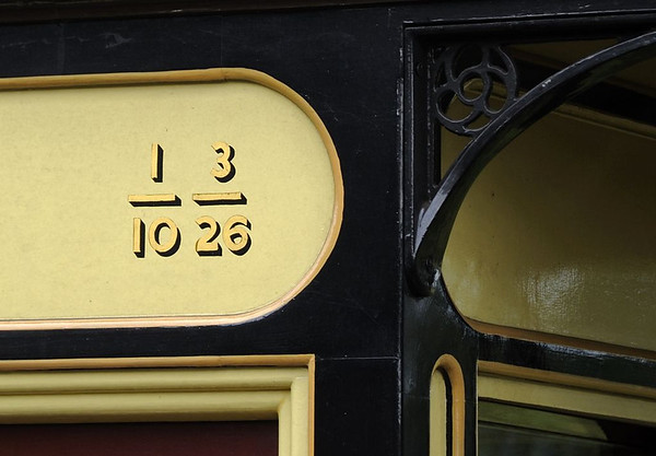 Replica Pickering coach 6466, Castle Caereinion, Fri 26 August 2011.