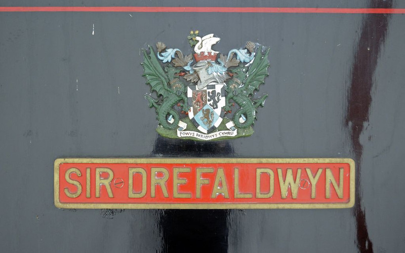 Sir Drefaldwyn, Welshpool, Fri 26 August 2011 2.  The name is the Welsh for Montgomeryshire.