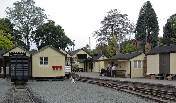 Llanfair Caereinion, Fri 26 August 2011 5: Station.