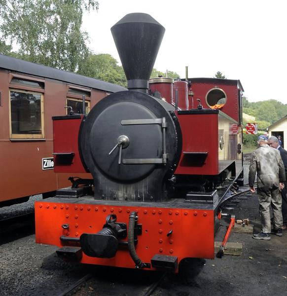 Joan, Llanfair Caereinion, Fri 26 August 2011 1.  Kerr, Stuart 0-6-2T 4404 / 1927, built for a sugar cane plantation in Antigua.