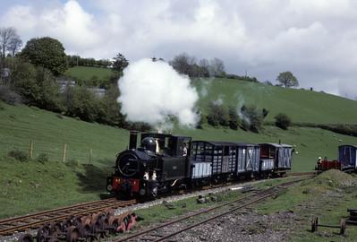 Welshpool & Llanfair Railway, 1977 - 1978