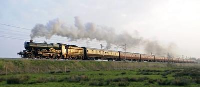 British steam special trains 2007 - 2010