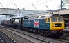 47580 County of Essex, 34067 Tangmere & 47760, 5Z67, Lancaster, Wed 14 April 2016 1 - 1743.  A 1019 Southall - Carnforth move.  The support coach was 99035.