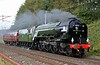 60163 Tornado, 5Z59, Beckfoot, Sat 12 September 2020 - 0954.  The A1 heads from Carnforth to Carlisle to take over the A1 Steam Loco Trust's Queen of Scots York - Newcastle - Carlisle - Edinburgh tour.  The loco and support coach 21249 had just been repainted at Steamtown.