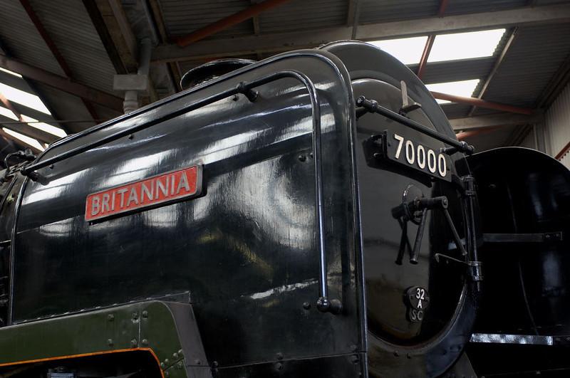 70000 Britannia, Barrow Hill, 11 March 2006
