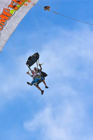 Britt skydive