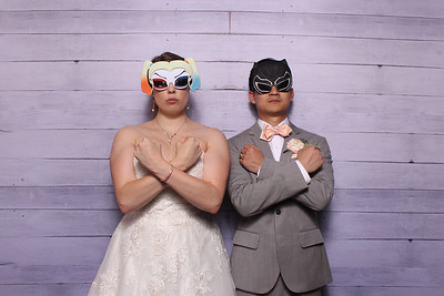 Brittany and Simon's Wedding Photo Booth