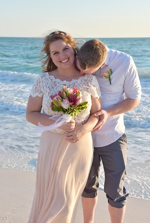 Beautiful Wedding at Holmes Beach, FL