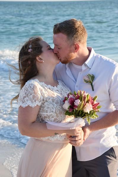 Beautiful Wedding at Holmes Beach, FL