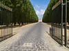 And this is just the back entrance to Versailles.