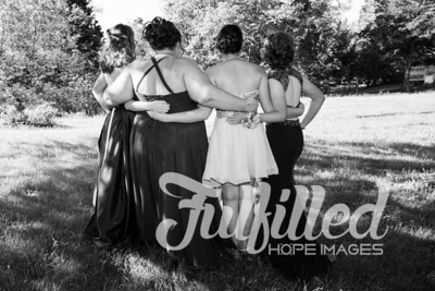 Brittney, Emily, Cherith, and Samantha Prom 2017 (3)