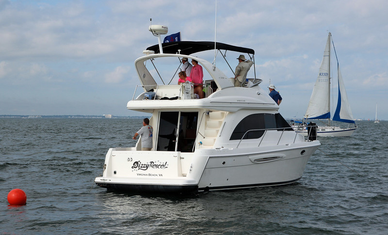 Dizzy Rascal, our dauntless committee boat.