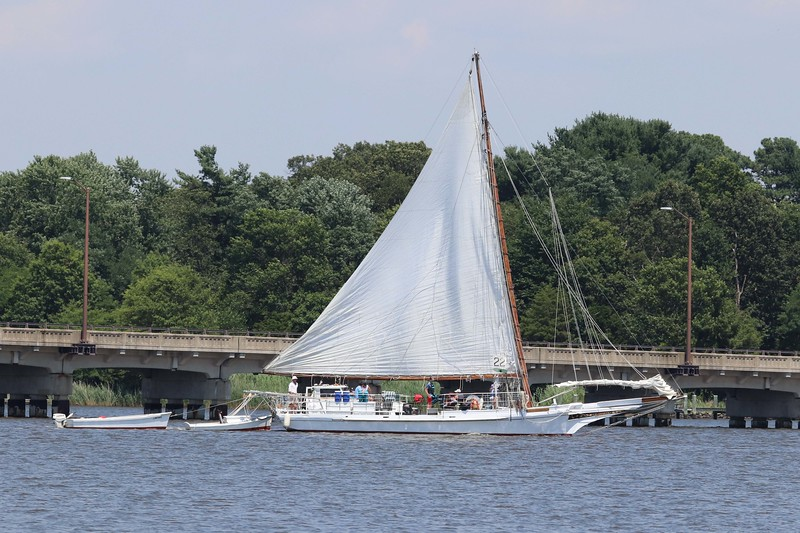 Skipjack in Chestertown