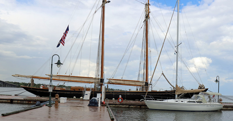 Schooner Virginia with Bay Dreamer II