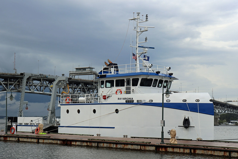 Research Vessel Virginia was Christened this weekend at Yorktown