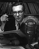 Voice of America : Thanks to the Voice of America (VOA) for permitting use of these photographs.  Featured is Willis Conover, long-time host for VOA music programming around the world.  To see a larger image, simply click on the photograph.
