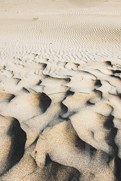 High winds, that means sandscapes.