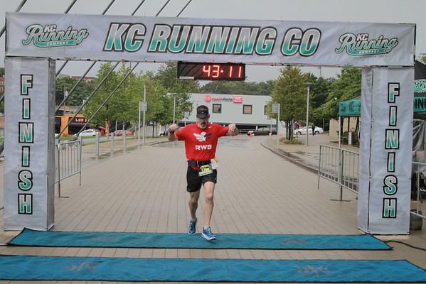 Half Marathon/10K Finish