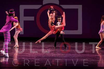 1-2-MT Dance AL 10-18yr SAT 1pm W65-The Greatest Show