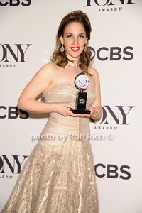 """Jesse Mueller (from """"Beautiful"""") wins Best Performance by an actress in a Leading Role in a Musical  photo by Rob Rich/SocietyAllure.com © 2014 robwayne1@aol.com 516-676-3939"""