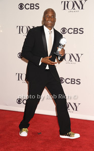 """Director Kenny Leon wins Best Direction of a play  for """"A Raisin in the Sun"""""""