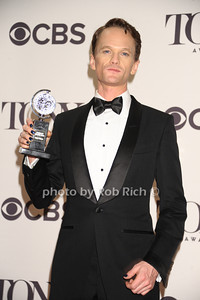 """Neil Patrick Harris ( from """" Hedwig and the Angry Inch"""") wins for Best Performance by an Actor in a Leading Role in a Musical photo by Rob Rich/SocietyAllure.com © 2014 robwayne1@aol.com 516-676-3939"""