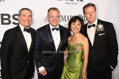 Linda Cho and guests photo by Rob Rich/SocietyAllure.com © 2014 robwayne1@aol.com 516-676-3939