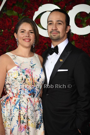 Vanessa Nadal, Lin-Manuel Miranda photo by Rob Rich/SocietyAllure.com © 2016 robwayne1@aol.com 516-676-3939