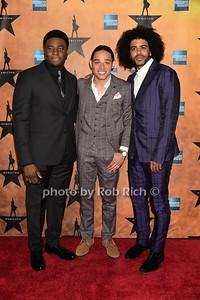 Okieriete Onaodowan, Anthony Ramos and Daveed Diggs   photos by Rob Rich/SocietyAllure.com © 2015 robwayne1@aol.com 516-676-3939