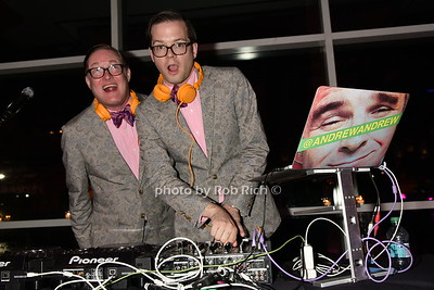 DJ's Andrew Andrew   photos by Rob Rich/SocietyAllure.com © 2015 robwayne1@aol.com 516-676-3939