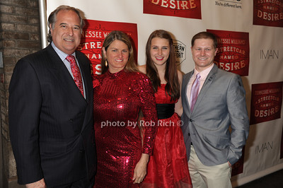 Stewart Lane, Bonnie Comley, Leah Lane, Alex Washer -photo by Rob Rich/SocietyAllure.com © 2012 robwayne1@aol.com 516-676-3939