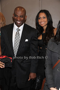 Deion Sanders, Tracey Edmonds -photo by Rob Rich/SocietyAllure.com © 2012 robwayne1@aol.com 516-676-3939