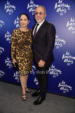 Goria Estefan and  Emilio Estefan