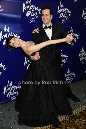 Leanne Cope and Robert Fairchild