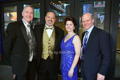 Dr Bruce Arakelian & Tom Bodkin, and Carol Washer & Cliff Washer