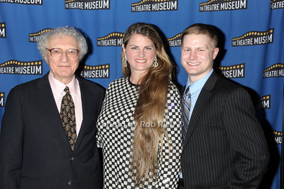 Sheldon Harnick, Bonnie Comley, Alex Washer photo by Rob Rich © 2011 robwayne1@aol.com 516-676-3939