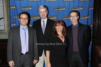 Peter Avery, Robert Frisch, Donna Finn, Ira Rosenberg (Frank Sinatra School of the Arts) photo by Rob Rich © 2011 robwayne1@aol.com 516-676-3939